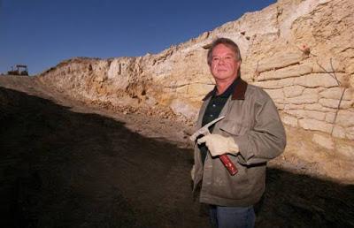 Randall Moir y el muro Rockwall