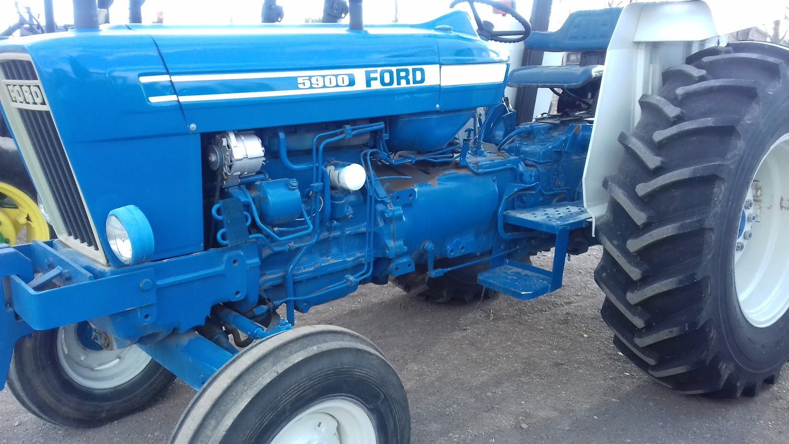 Ford 5900 Tractor Parts : Ford pictures to pin on pinterest thepinsta