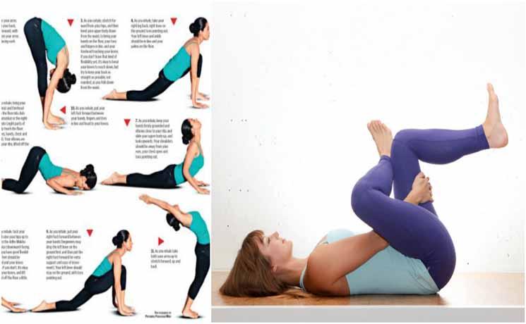 TERBUKTI AMPUH 100%! Hanya Lakukan '10 Gerakan Yoga Ini' Diatas Kasur Secara Rutin! Lemak Diperut Hilang dan Badan Juga Jadi Sehat Plus Montok Moms!