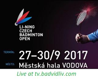 Li-Ning Czech Open 2017 live streaming