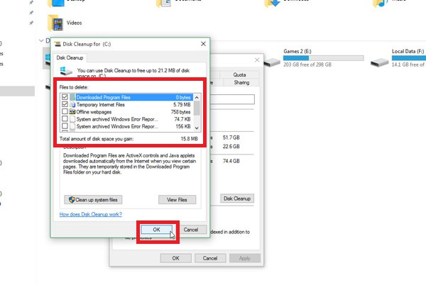 How To Free Up Hard Disk Space In Windows 10