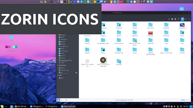 Zorins OS icon theme download