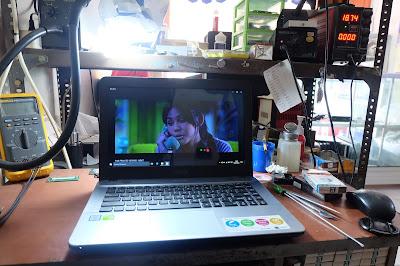 Service Laptop Asus x411u mati , Di Malang