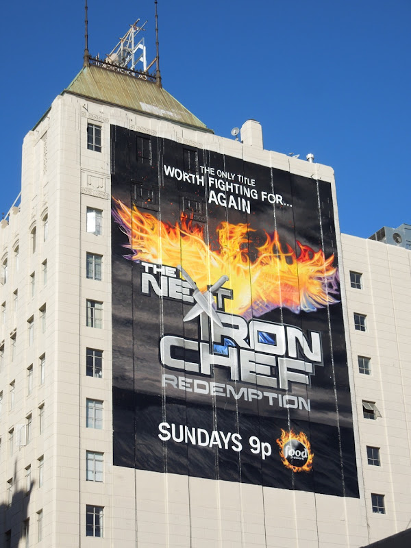 Next Iron Chef Redemption giant season 5 billboard
