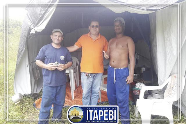 Prefeitura de Itapebí leva água potável para Assentamento União 3