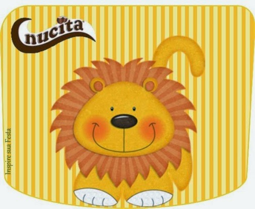 Sweet Jungle Free Printable Candy Bar Nucita Labels.