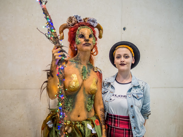 Tattoo Convention Zaragoza 2017 - Body Paint (con Global MakeUp Zaragoza)