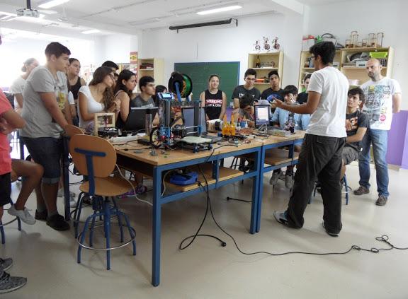Mavensol aprendiendo sobre arduino impresoras 3d for Instituto ciudad jardin