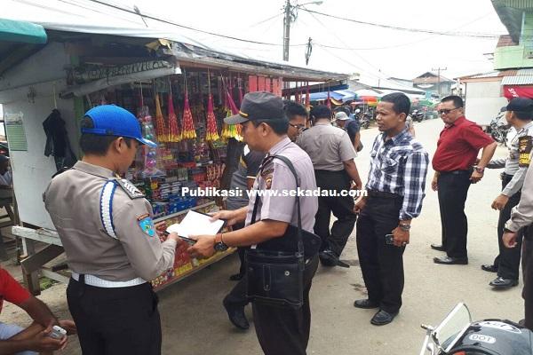 Petasan Milik Pedagang Kaki Lima Diamankan Polres Sekadau