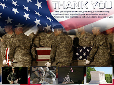Happy Memorial Day 2016:  thank you for your dedicated, your duty,