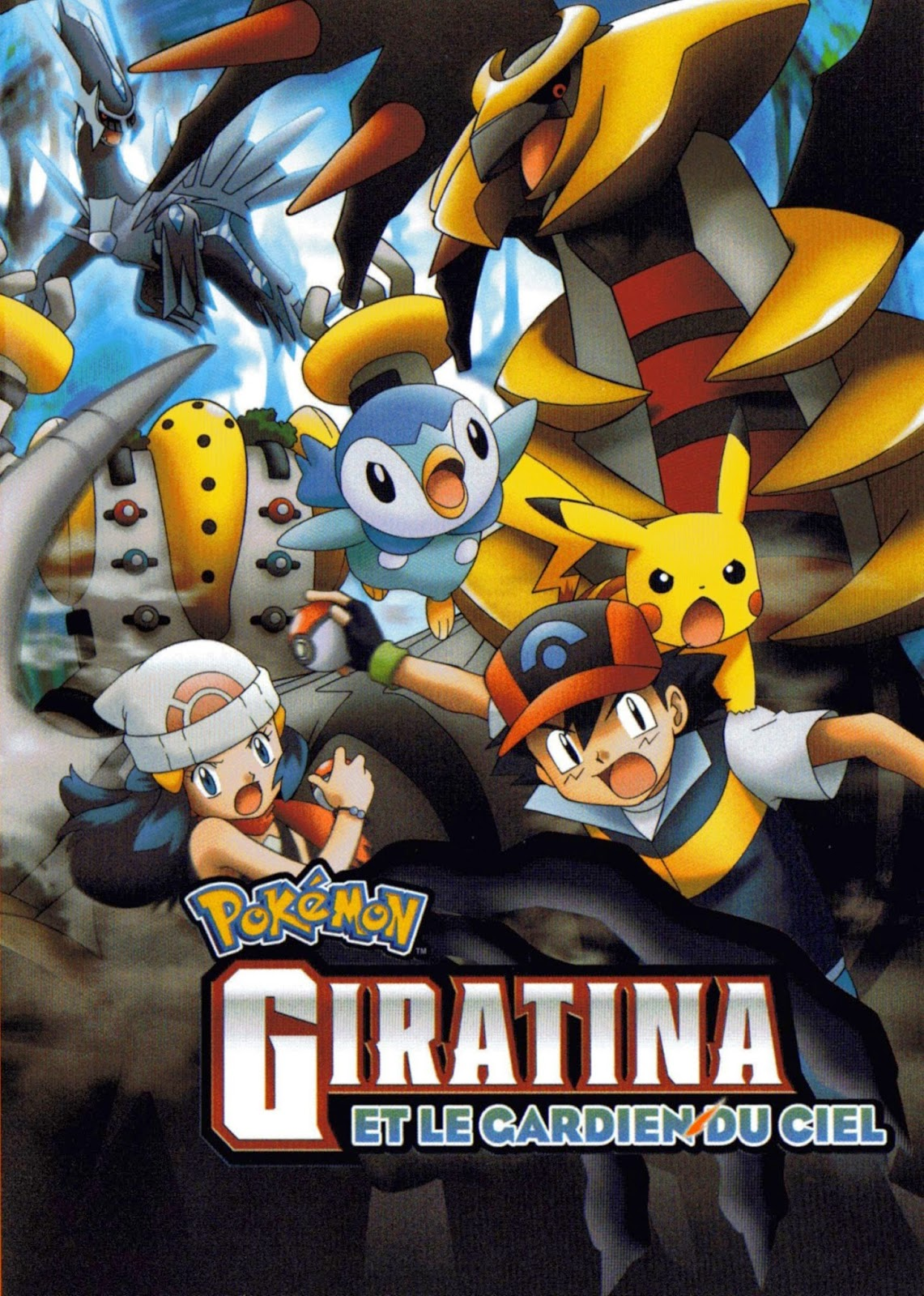 Poster do filme Pokémon: Girantina e o Cavaleiro do Céu