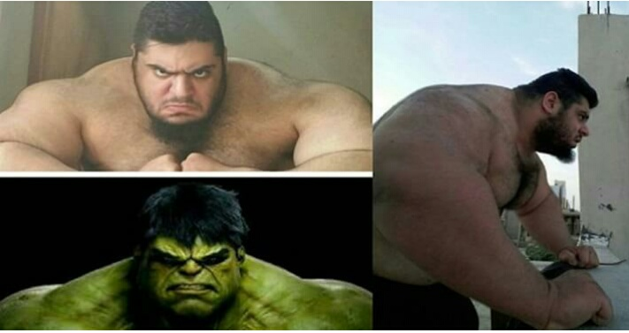 Real Life Hulk Man Found! He Looks Much Stronger Than The