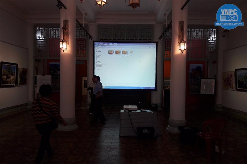 Cho thuê máy chiếu tại Bảo Tàng Mỹ Thuật Tp. Hồ Chí Minh