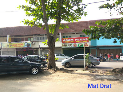 Asam Pedas tempat Makan Sedap Melaka