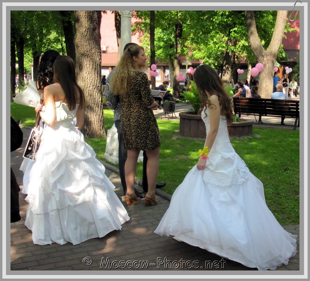 Walking Runaway Moscow Brides