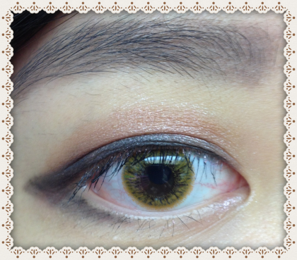 Review : Japan Softlens AGEHA D-Brown by Jessica Alicia
