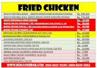 List-Harga-Tepung-Fried-Chicken