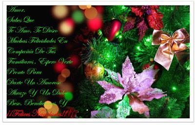 Frases De Navidad: Amor Sabes Que Te Amo Te Deseo