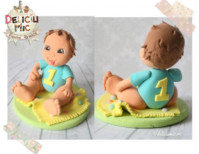figurina tort handmade