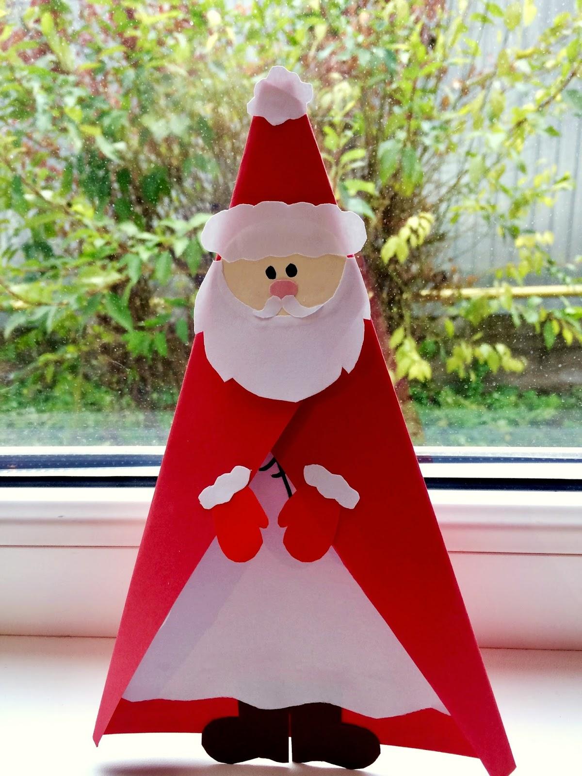 Moș Crăciun- felicitare