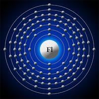 Flerovyum atomu elektron modeli