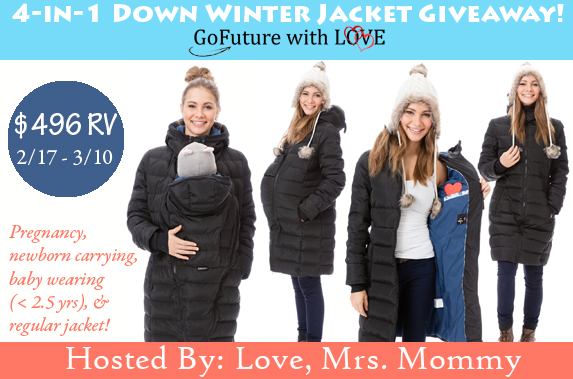 4-in-1 Down Winter Jacket Giveawa