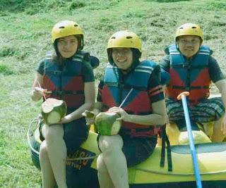 rafting sentul