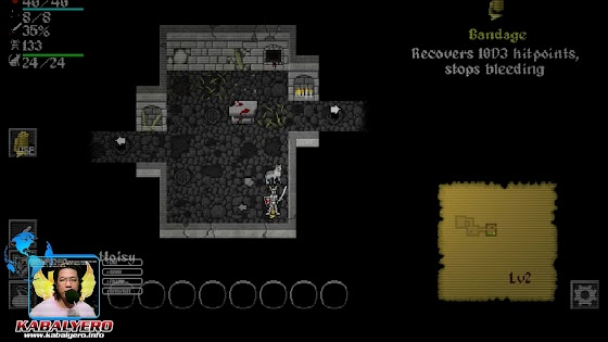 Even more monsters in Level 2 Dungeon, Ananias Roguelike