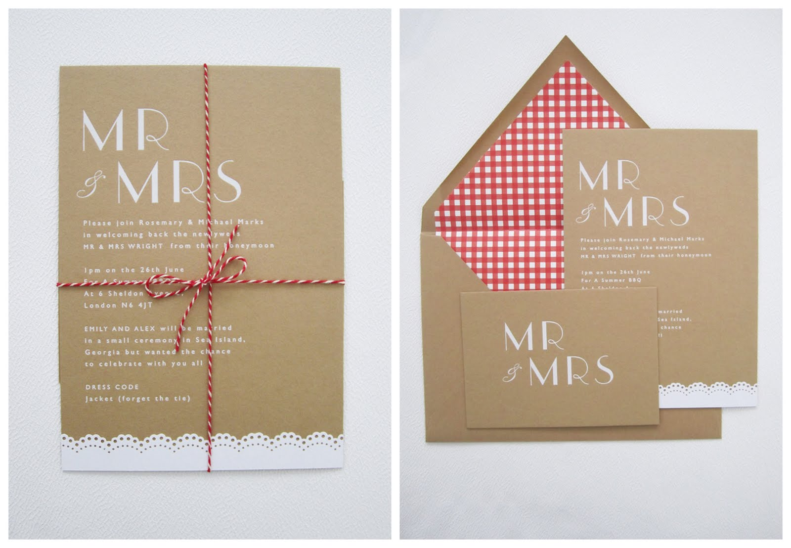 Cool New Wedding Stationery Design