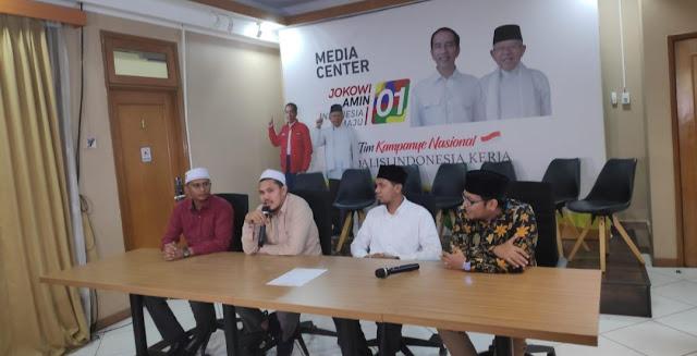 Disambangi Ikatan Dai Aceh, TKN: Jokowi-Ma'ruf Siap Tes Baca Alquran