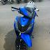 Sơn xe Honda Sh màu xanh GP nhám cực đẹp