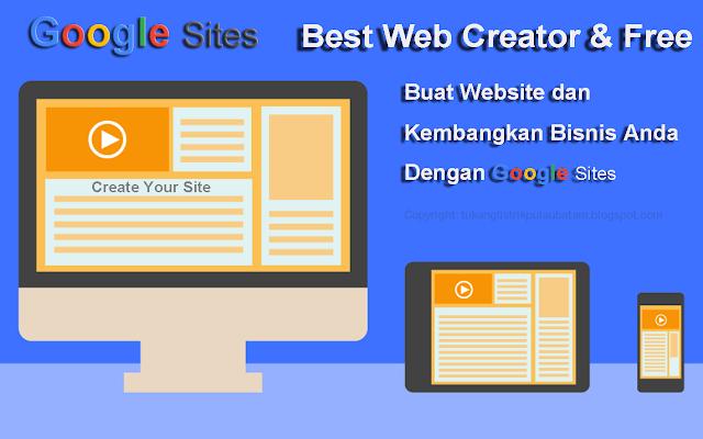 Mengenal Google Sites Lebih Dekat
