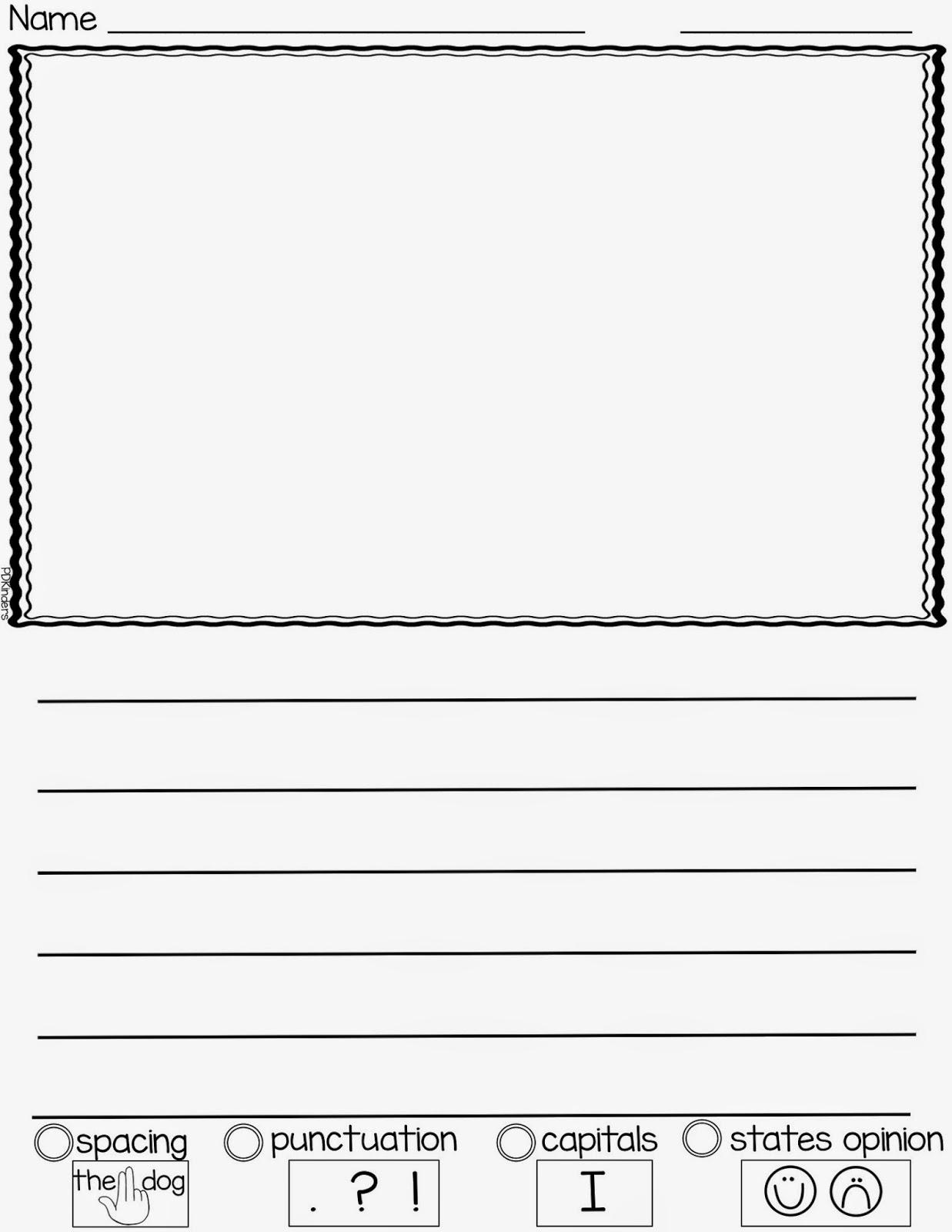 M Cript Writing Paper For Kindergarten