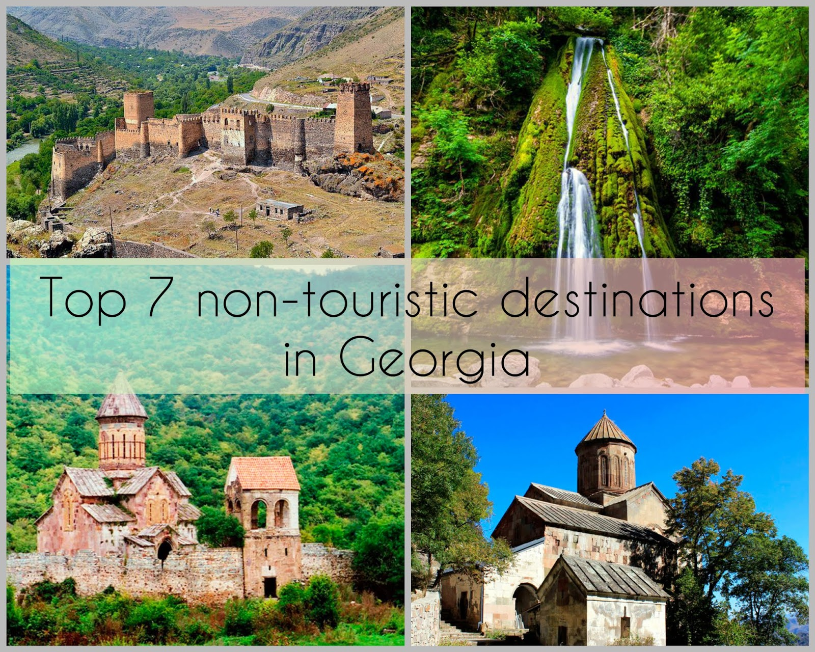 Non-touristic destination in Georgia