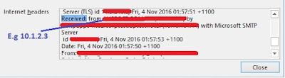 Tracking SAP system from Email