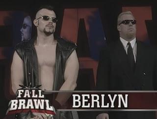 WCW Fall Brawl 1999 - Berlyn w/ The Wall faced Hacksaw Jim Duggan