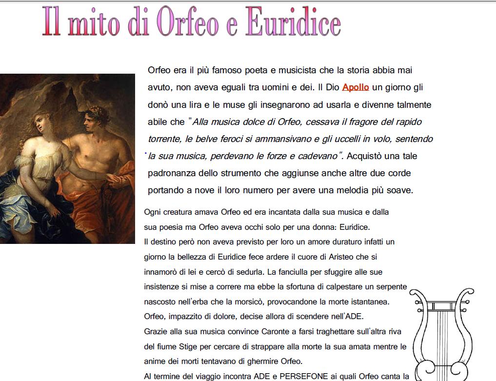 Schede Ed Attività Didattiche Del Maestro Fabio Per La: Mito Scuola Primaria Classe Terza AN54 » Regardsdefemmes