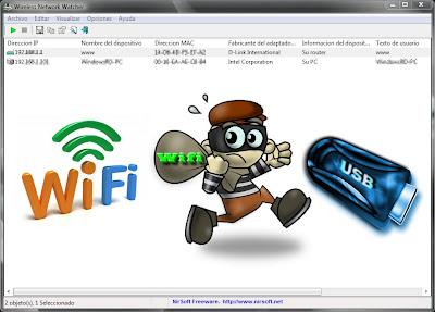 Ver si te están robando Wifi.
