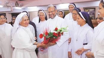 नन से रेप: आरोपी बिशप का जालंधर में भव्य स्वागत, बरसाए गए फूल