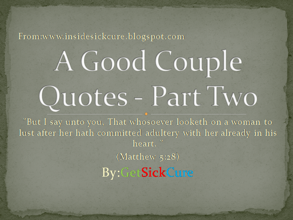 Good Provider Husband Quotes: A Good Husband And Good Wife