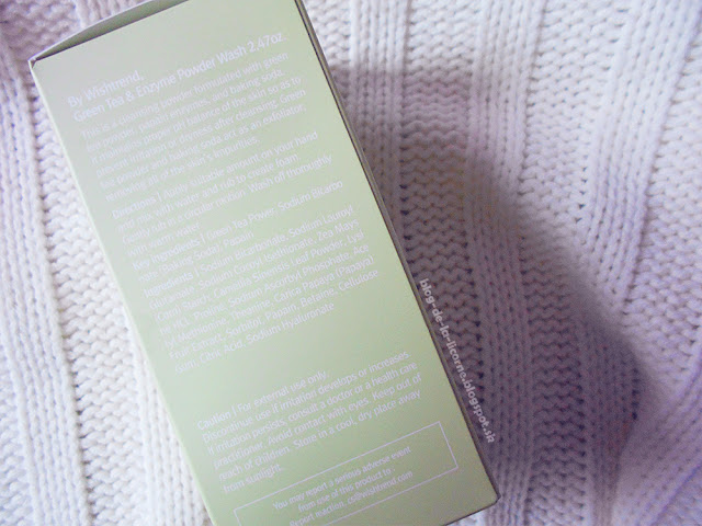 Green Tea & Enzyme Powder Wash by WISHTREND Review