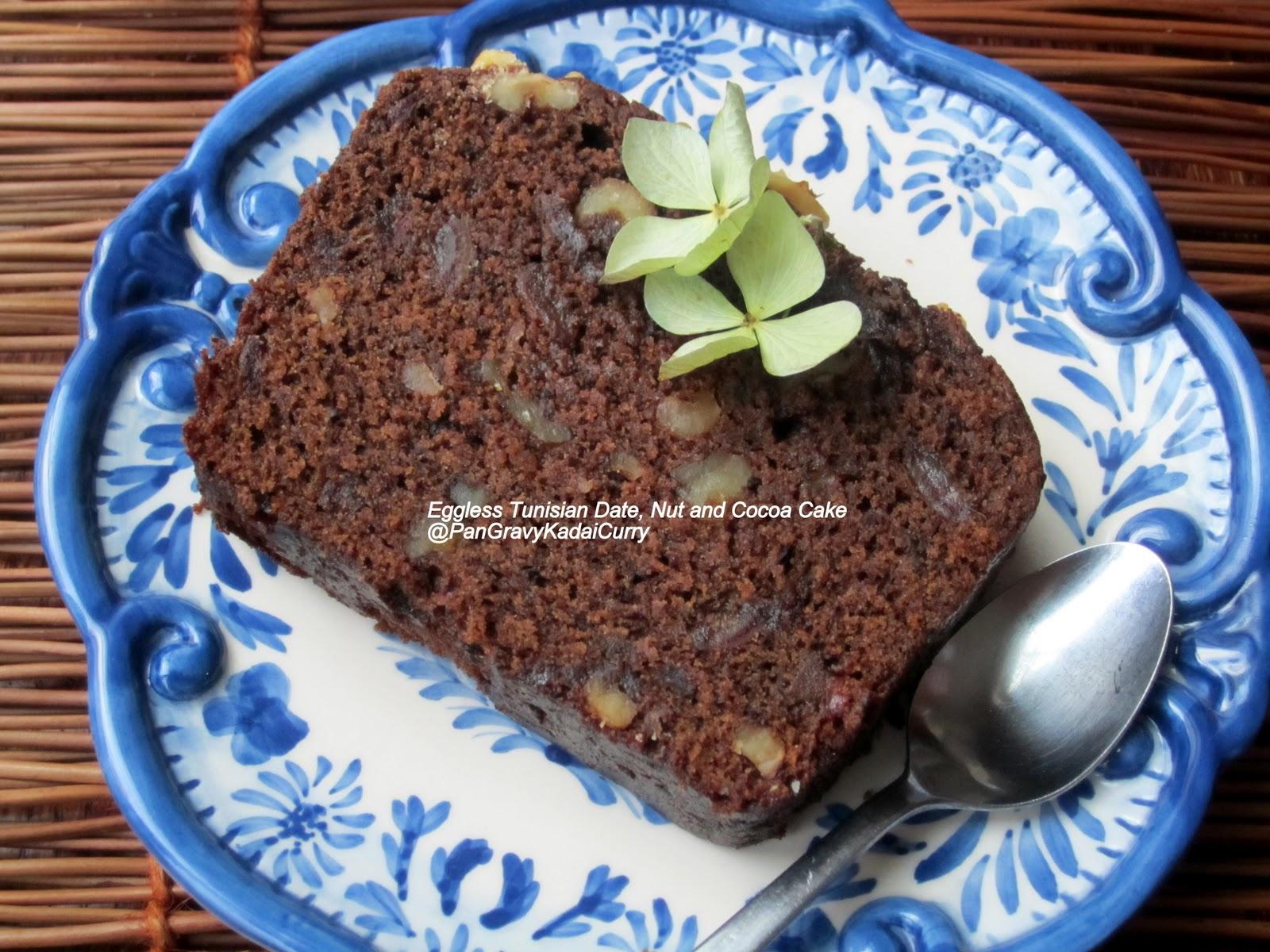 Egg Cake Recipe In Kadai: Pan Gravy Kadai Curry: Egg-less Tunisian Date, Nut