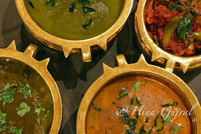 is ane of the fine dining restaurants inwards ITC Windsor serving authentic South Indian Cuisi Tasting of the New Menu @Dakshin, ITC Windsor