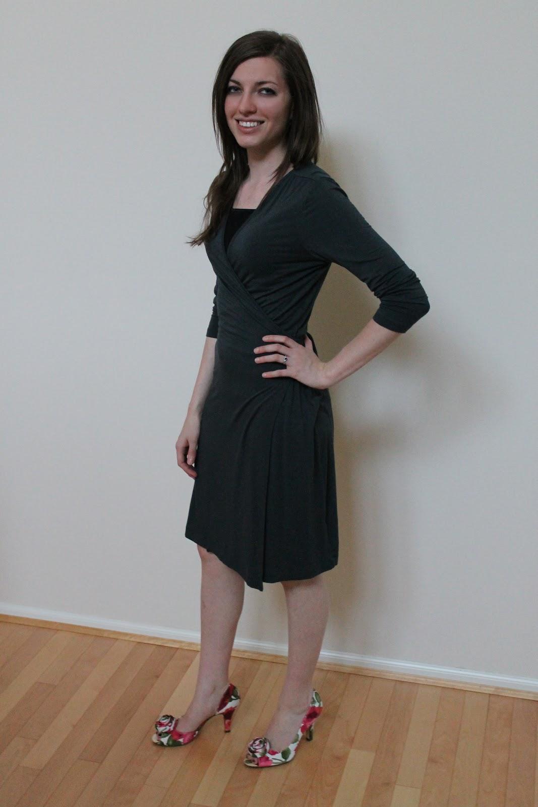 Costco grey leggings - 3 3
