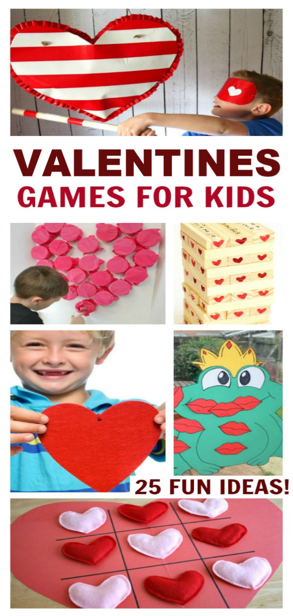 25+ VALENTINES GAMES for kids that they will love!  So many fun ideas! #valentinespartygamesclassroom #valentinespartygames #valentinesdaypartyforkids #valentinesdaypartygames #valentinesparty #valentinesdaygamesforkids #valentinespartyideasforkids #valentinesdaycrafts #valentinesactivitiesforkids #valentinesideasforkidsschool #valentinesideas