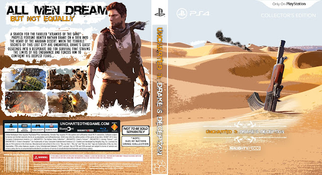 Capa Uncharted 3 Drakes Deception PS4