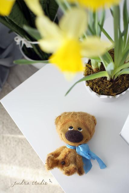 Artist teddy bears, handmade toys