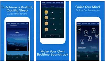 aplikasi dengan fitur suara relaks agar kamu bisa nyaman dan mudah tidur