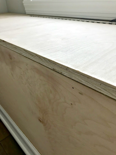 Finishing off a raw edge on wood