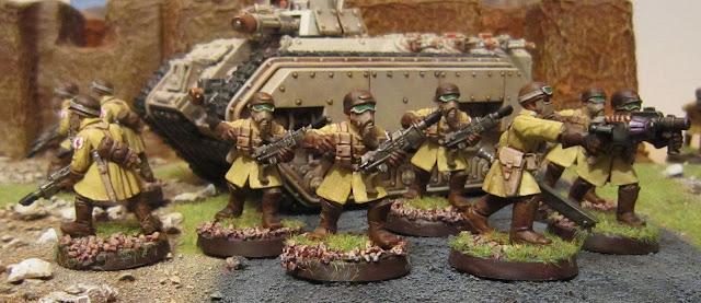 Artificer's Workshop Visions: Steel Legion First Platoon